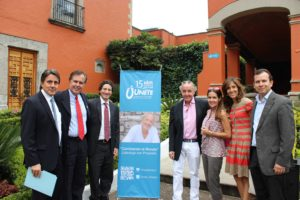 Joey Reiman and his wife, Cynthia Good at Unete in Mexico