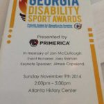 2014 Georgia Disability Sports Awards Program